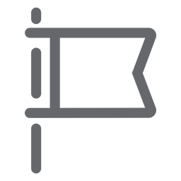 Bandeira plana ícone bandeira