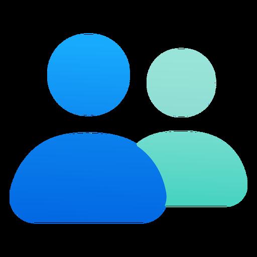Flat people icon design