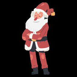 Papai Noel com braços cruzados