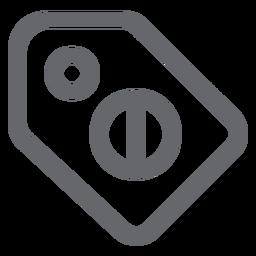 Forbidden tag icoon