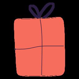Ilustración de embalaje de caja de regalo