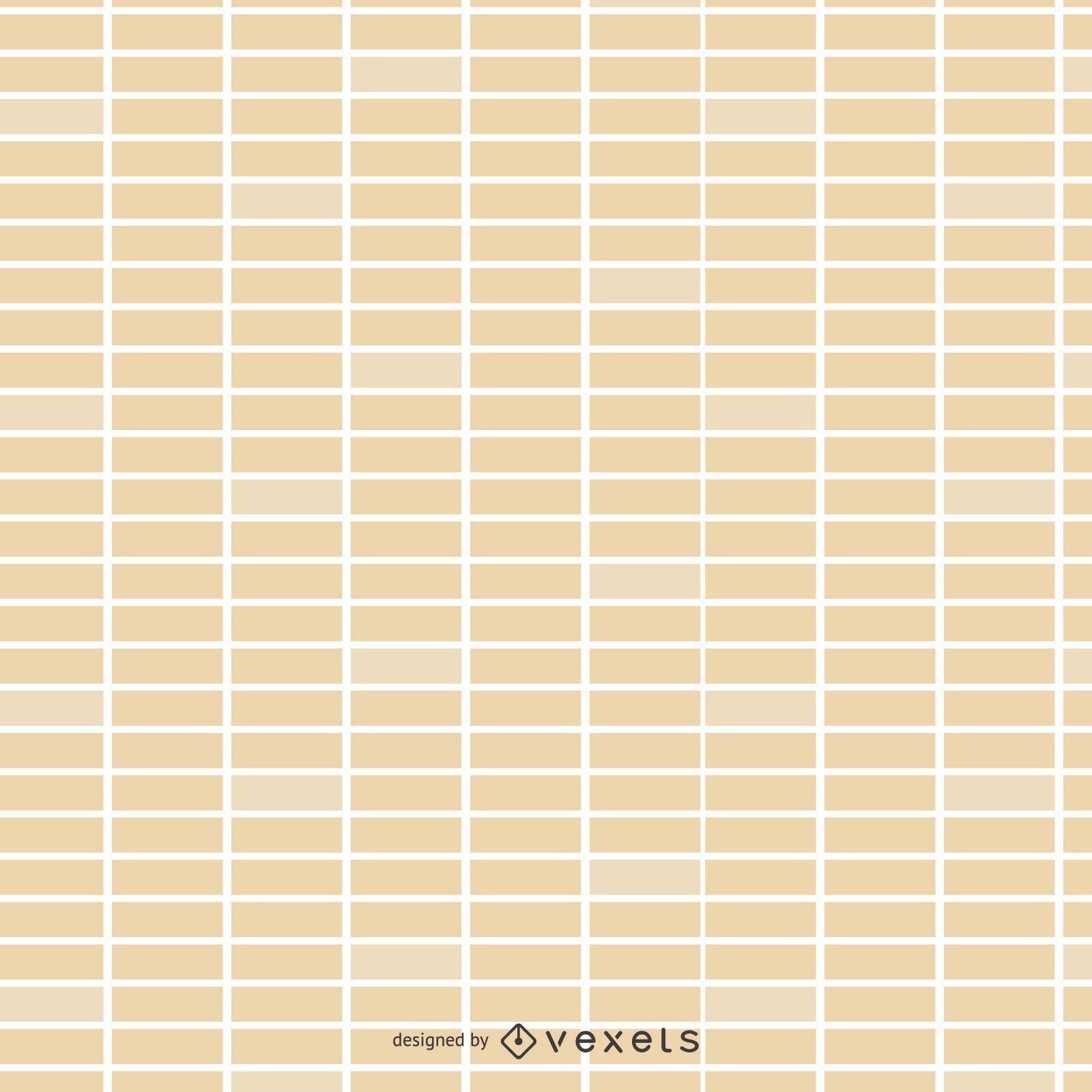 Seamless flat brick wall pattern