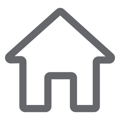 Home icon flat Transparent PNG