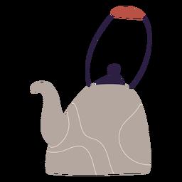 Ilustración de caldera de cocina