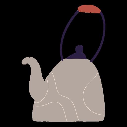 Kitchen boiler illustration