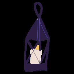 Desenho de ilustração de luz de lanterna