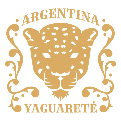 Leopard argentina country badge