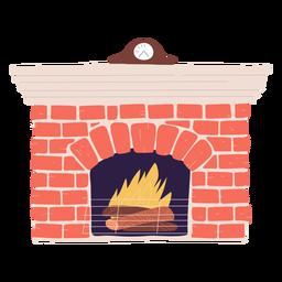 Lighten wood stove illustration