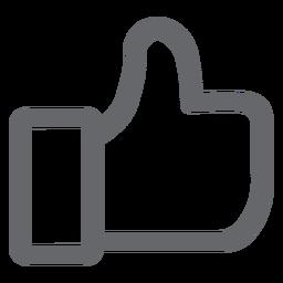 Como ícone de mídia social