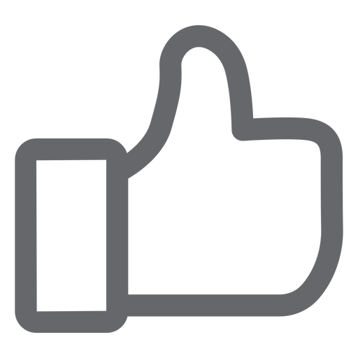 Like social media icon Transparent PNG