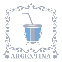 Mate bebida tradicional argentina