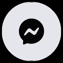 Icono de mensaje plano