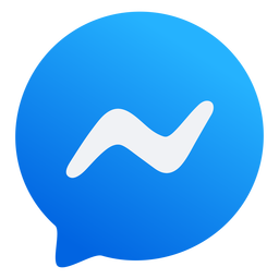 Messanger icon flat design