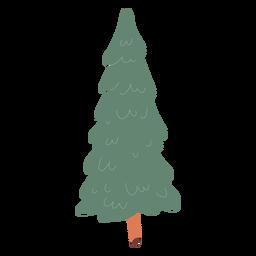 Ilustración de árbol de pino
