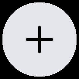 Plus icon symbol