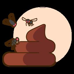 Icono de mosca de caca