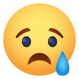 Sadly emoji icon
