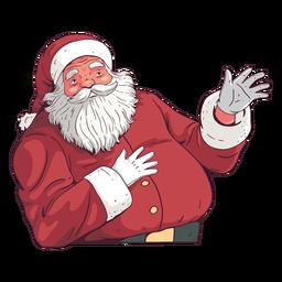 Ilustração do Papai Noel Natal