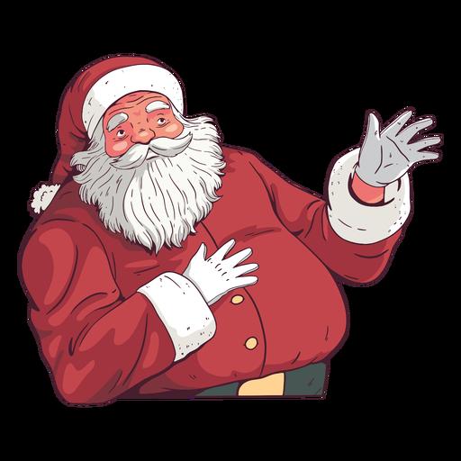 Santa claus illustration christmas design