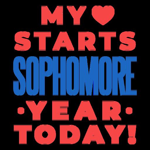 Segundo año de regreso a la escuela