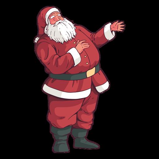 Stehender Weihnachtsmann-Feiertagsentwurf