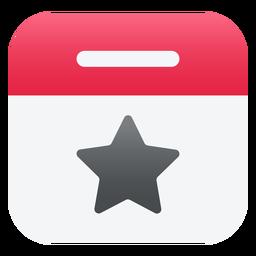 Icono de estrella plana