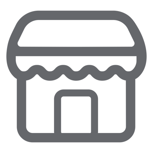 Store icon flat store Transparent PNG