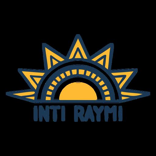 Diseño sun inti rayim