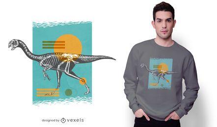 Oviraptor dinosaur t-shirt design