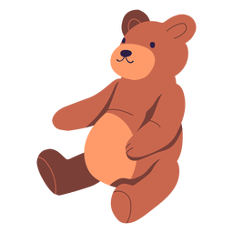 Teddy bear illustration design