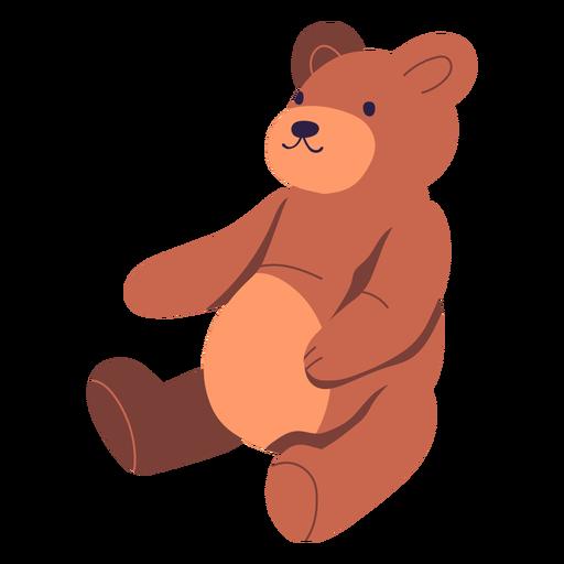 Dise?o de ilustraci?n de oso de peluche