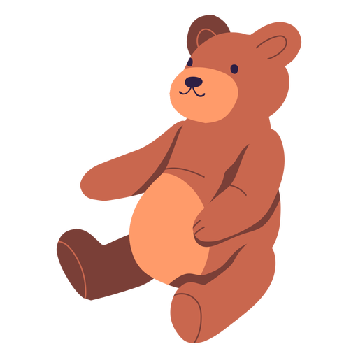 Teddy bear illustration design Transparent PNG