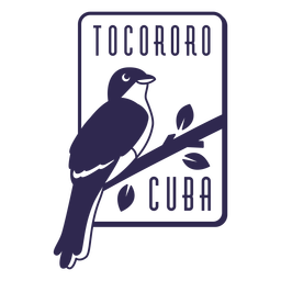 Tocororo cuba bird design