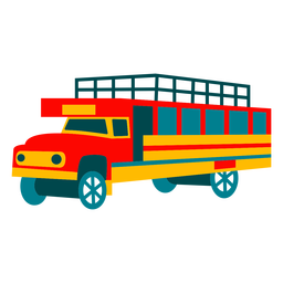 Truck illustration design