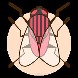 Ilustração do ícone de mosca para cima