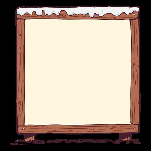 Winter whiteboard illustration Transparent PNG