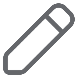 Writing pencil icon flat