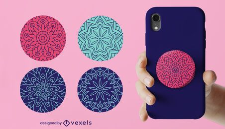 Mandala popsocket set
