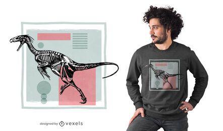 Diseño de camiseta Dromaeosaurus