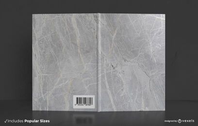 Marble book cover design