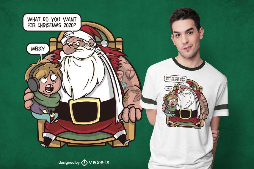 Merciful christmas t-shirt design