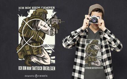 Tactically superior german t-shirt design