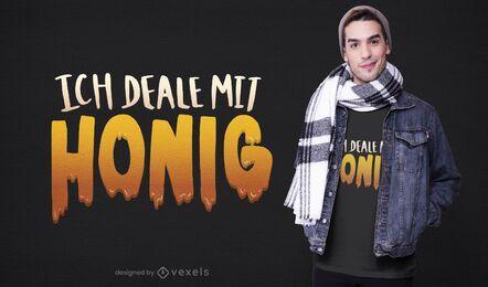 Honey dealer t-shirt design