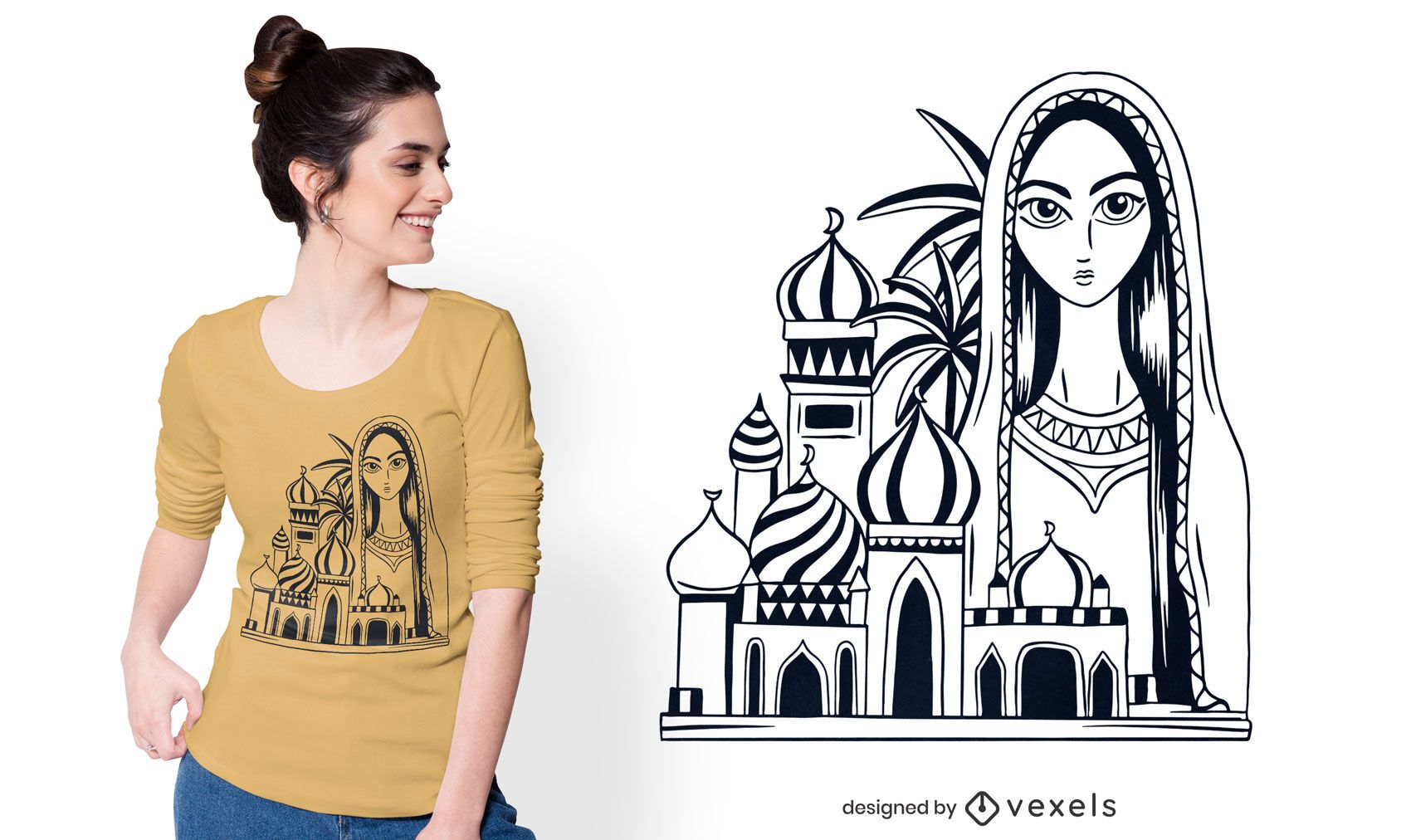 Baghdad t-shirt design