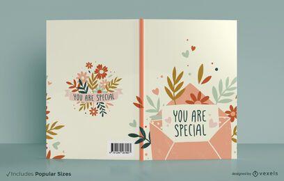 Você é um design especial de capa de livro
