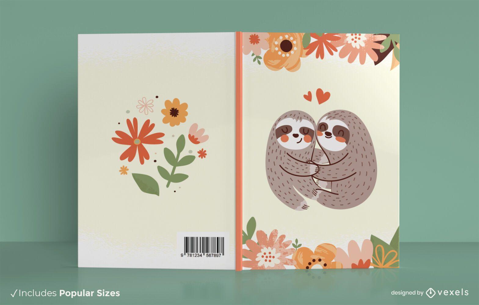 Sloths book cover design