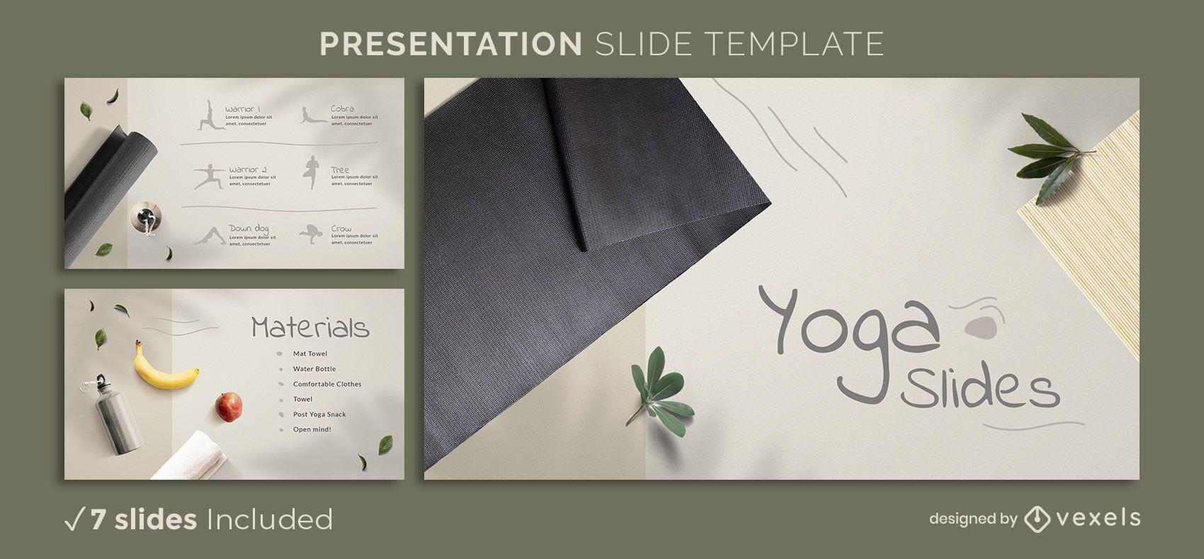Yoga presentation template