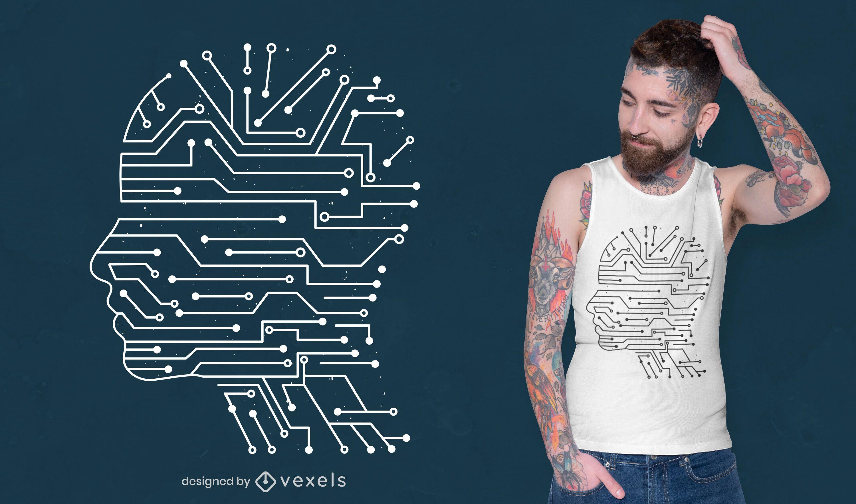 Artificial intelligence t-shirt design