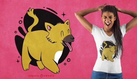 Netter Harzer Fuchs T-Shirt Design