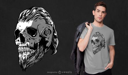 Viking cranium t-shirt design